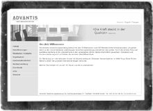 Screenshot of advantis-ic.com